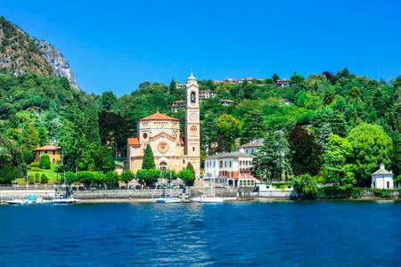 lake como: Beautful Lago di Como, north Italy