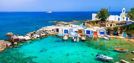 伝統的なギリシャの島々 - ミロス島、キクラデス諸島