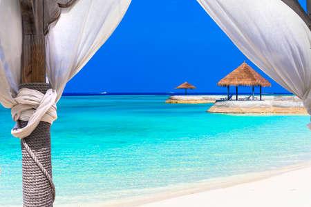 hotel resort: relaxing tropical holidays - Maldives