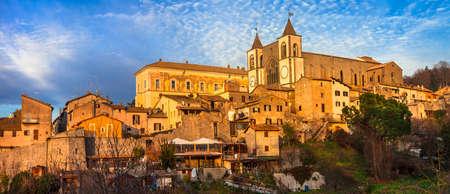 tuscia: San Martino al Cimino - pictorial village in Italy, Viterbo province