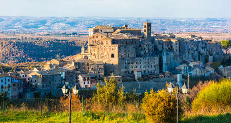 tuscia: Bomarzo - medieval village in Italy