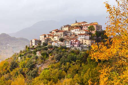 hill top village Colli al Volturno, Moulise, Italy