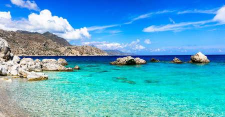 greek islands: turquoise beaches of Greek islands- Karpathos