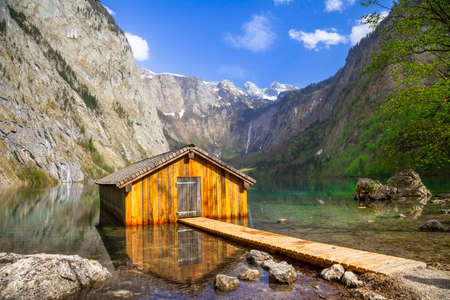 pictorial: pictorial lake Konigsee in Bavaria, Germany
