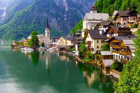 pictorial: most pictorial village in Europe - Hallstatt in Austria