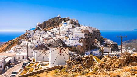 chora: traditional Greece - Serifos island, Chora village