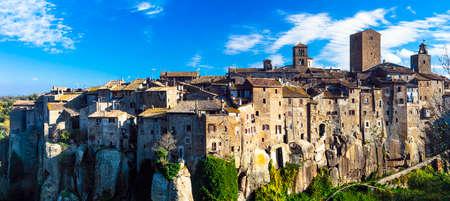 vitorchiano: beautiful medieval village Vitorchiano, Lazio, Italy
