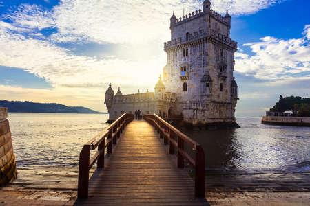 belem: Landmrks of Portugal - Torre di Belem in Lissabon