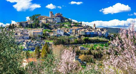 beautiful Amelia village in Umbria, Italy