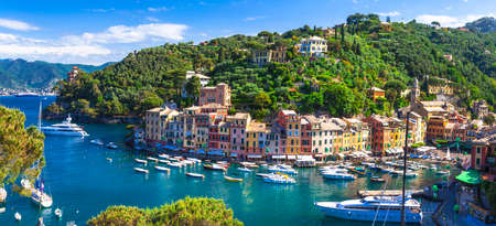 buidings: Luxury vacations in Italy - beautiful Portofino in Liguria