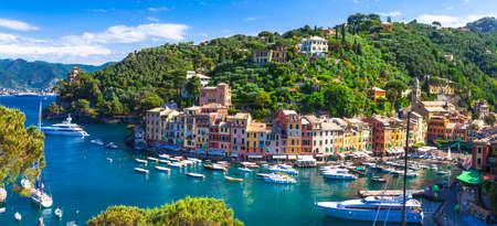 Luxury vacations in Italy - beautiful Portofino in Liguria