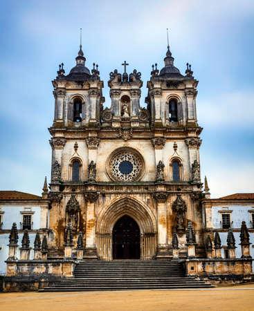 impressive: impressive cathedral Alcobaca in Portugal