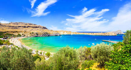lindos: most beautiful beaches of Greece