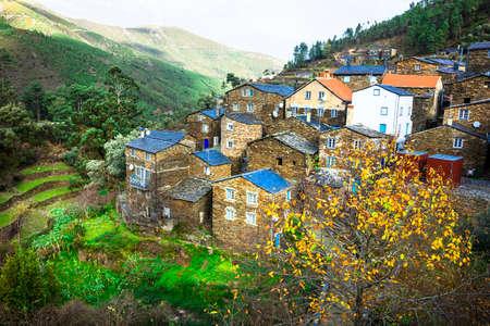 Piodao - beautiful village in Portugal Standard-Bild