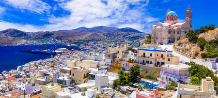 pictorial scenic islands of Greece - Syros, Cyclades