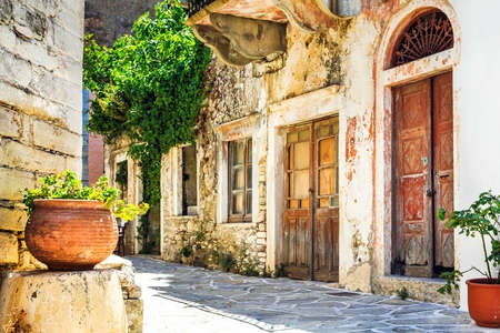 authentic: charming authentic villages of Greece - Chalki in Naxos