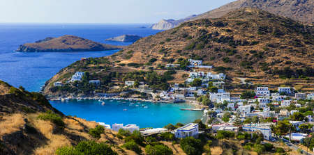 lesure: scenery of Greek islands - Syros, Cyclades