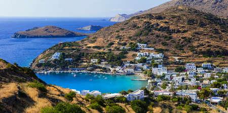 scenery of Greek islands - Syros, Cyclades