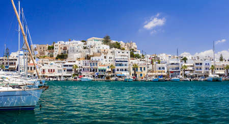 cyclades: Naxos island, Cyclades, Greece Stock Photo