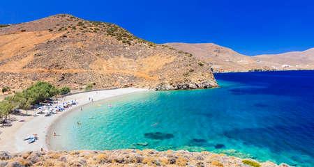 Astipalea island Agios Konstantinos beach, Greece