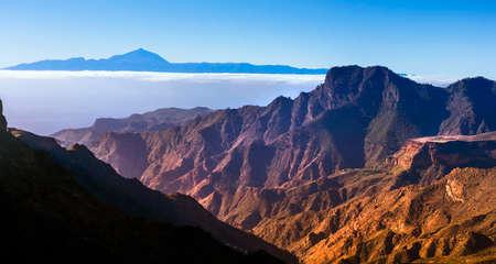 impressive: nature landscapes - impressive mountains of Gran Canaria