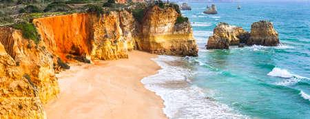 impressive: Algarve - impressive atlantic coast of Portugal with famous beaches