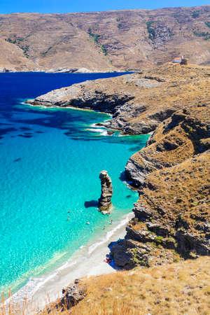 amazing beaches of Greece - Tis gras to pidima, Andros island