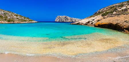 most beautiful beches of Greece - koutsomytis island, near Astypalea