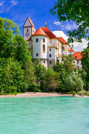 beautiful castles of Germany, Bavaria, Fussen