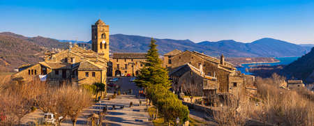 pictorial: pictorial mountain village Ainsa, Spain