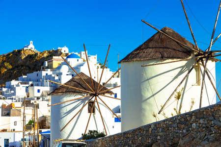 Windmills of Greece - traditional greek island Serifos