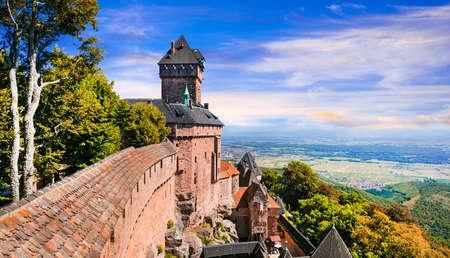 haut: famous Castles of France - Koenigsbourg