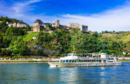 rhein: Travel in Germany - romantic cruises over Rhein river