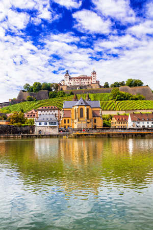 bayern old town: Beautiful places of Germany - Wurzburg town