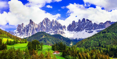val: Beauty in nature - amazing Dolomites mountains, Italy