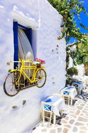 naxos: traditional charming greek tavernas, Naxos island