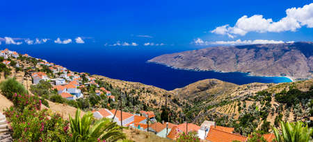 greek islands: Authentic Greek islands- beautiful Andros in Cyclades