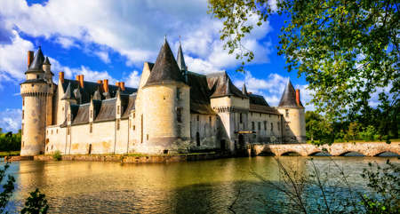 Beautiful Plessis Bourre castle, Loire valley, France.