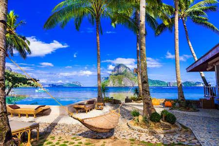 Tropical paradise in El Nido, Palawan, Philippines.