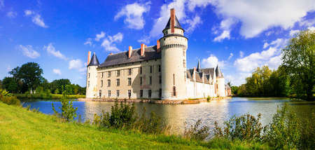 Elegant Plessis Bourre castle, Loire valley, France. Editorial