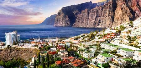 Incredible cliff in Los Gigantes, Tenerife, Spain.