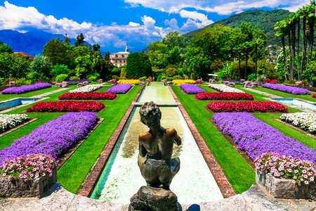 Impressive Villa Taranto, Lago Maggiore, North italy.