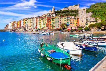 Beautiful Portovenere village, Liguria, Italy.