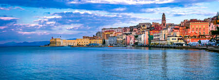 Beautiful Gaeta town, view with sea and colorful houses, Lazio, italy. Stock fotó