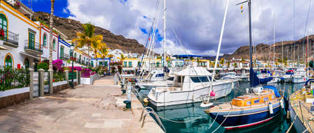 Beautiful Puerto de Mogan village, Gran Canaria, Spain