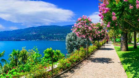 Beautiful Isola Madre, Lake Maggiore, North Italy. Banco de Imagens