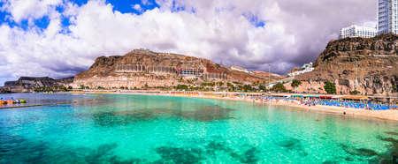 Beautiful Playa de los Amadores, Gran Canaria, Spain