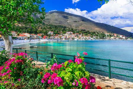 Kefalonia island, scenic village Agia Efimia. Greece