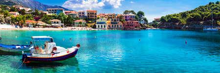 Beautiful Assos village, Kefalonia island, Greece