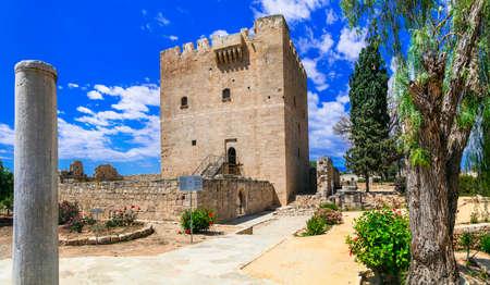 Landmark of Cyprus island, Kolossi castle.